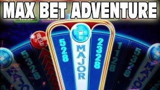 SLOT MACHINE MAX BET GAMBLING  •  PUSH YOUR LUCK  •  M RESORT CASINO