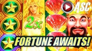 *FORTUNE AWAITS MEDLEY MIX!* FORTUNE STACKS BONUS RUN (Konami) Slot Machine Bonus Wins