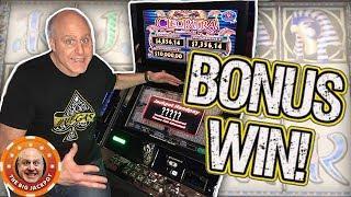 • 19 FREE GAMES • High Limit Cleopatra Bonus Jackpot! •| The Big Jackpot