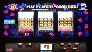10 TIMES PAY •LIVE PLAY• MAX BET ~ Cosmopolitan, Las Vegas Slot Machine
