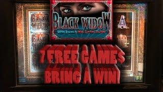 • The Raja Gets 7 FREE Games Awarded on • Black Widow •