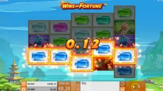 Wins Of Fortune by Quickspin - new slot dunover tests