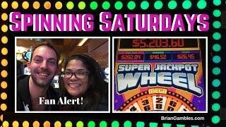 Super Jackpot Wheel • SPINNING SATURDAYS • EVERY SATURDAY Slot Machine Pokies at #Pechanga