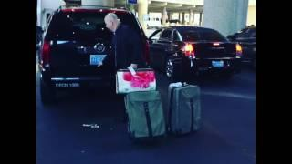 Arriving at McCarran Airport and SUV Transfer by PSS West Coast to The Cosmopolitan Las Vegas