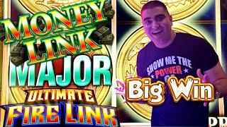 NEW High Limit ULTIMATE Fire Link Slot $20 Max Bet BONUS | MAJOR Jackpot On Money Link Slot Machine