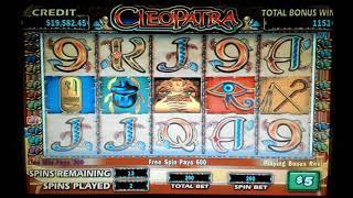 Cleopatra High Limit Bonus Round Jackpot