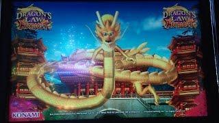 Konami: Dragon's Law Hot Boost Bonus on a $0.80 bet