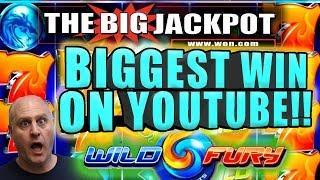 • WILD FURY JACKPOT! • $6 MAX BET • BIGGEST WIN ON YOUTUBE!!!