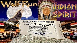 Cashout $1Million Dollar Cashout Max Bet $10,000 Thousand Bonus Trigger Jackpot Handpay Casino Video