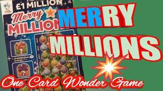 One Card Wonder(WHO WANTS MORE..£2 MILLION NEW BIG DADDY SCRATCHCARDS)50 LIKES & On they Go tonight