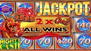 High Limit Mighty Cash Slot Machine HANDPAY JACKPOT | Season 8 | Episode #28