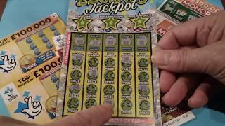 It's a Cracking Scratchcard game..£20,000 Green..Gold Fever..Monopoly..Cash Tripler.etc