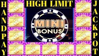 HANDPAY JACKPOT!! $25 High Limit Lighting Link HIGH STAKES •JACKPOT• | High Limit MIGHTY CASH Bonus