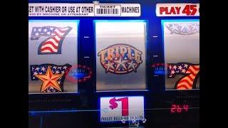 Very Good Profit - Triple Double Stars 9 Lines $1 Slot Machine @ Pechanga  Resort & Casino
