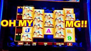 THE PANDAS REALLY DANCE!!! * THEN A LAST SPIN MIRACLE ALMOST HAPPENED!!! - New Las Vegas Casino Slot