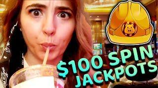 ⋆ Slots ⋆(2) $100/SPIN HANDPAY JACKPOTS⋆ Slots ⋆ on Huff N Puff!
