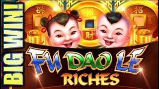 •BIG WIN!• NEW FU DAO LE RICHES (PART 2 OF 2) Slot Machine Bonus (SG)