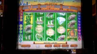 Jade Monkey slot machine bonus win at Parx casino