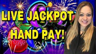 VGT JACKPOT HAND PAY CAUGHT LIVE!• IT'S VGT SUNDAY FUN'DAY WITH A HAND PAY ON ••CRAZY CHERRY••