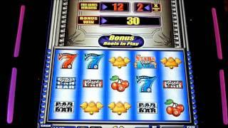 Stars and Bars Slot Machine Bonus Win (queenslots)