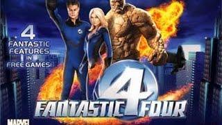 Playtech Fantastic Four Slot | Freespins 2€ BET | MR FANTASTIC RARE MEGA BIG WIN!!!