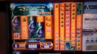 BIG WIN $$$ WITH FREE SPINS - Colossal Reel SLOT @ Downtown Grand Hotel & Casino Las Vegas