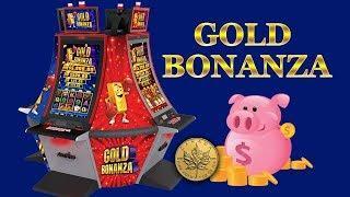 5c denom Gold Bonanza! Features, bonuses, line hits! - Slot Machine Bonus