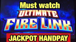 •JACKPOT HANDPAY•ULTIMATE FIRE LINK | ROAMING REELS | STAR WATCH FIRE Big Win Bonus