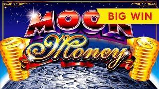 MAXI PROGRESSIVE! Moon Money Slot - BIG WIN SESSION!