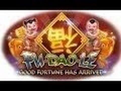 Fu Dao Le Slot Machine Bonus-at Aria with friends.