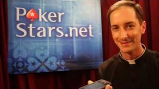 Unseen footage Father Andrew's 100,000 phone call Pokerstars.com