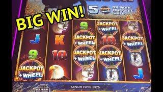 BIG WIN on American Bison slot machine!