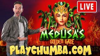★ Slots ★ LIVE ONLINE SLOTS ★ Slots ★ Getting Medusa on our side ★ Slots ★ PlayChumba Social Casino!