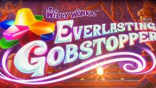 •NEW WILLY WONKA !•WILLY WONKA EVERLASTING GOBSTOPPER Slot •$150 Free Play Live Play•栗スロ