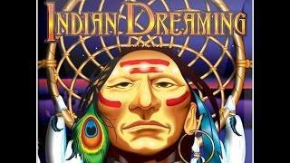 INDIAN DREAMING ** BONUS WIN!! ** ARISTOCRAT SLOT MACHINE