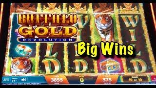 Big Wins and Live Play: Buffalo Gold Revolution & more!