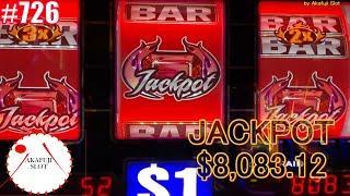 Review- All Live, Blazin Gems Slot Machine $27 Bet, High Limit, Jackpot Won, Huge Jackpot, 赤富士スロット