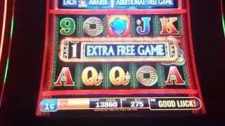 Dragon Rising (Bally) - MAX BET Slot Machine Bonus w/ Quick Hit Progressive Win
