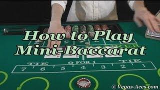 How to Play Mini-Baccarat