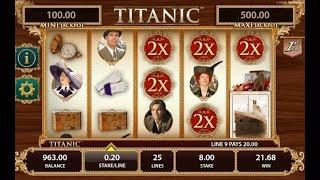 Titanic Online Slot from WMS Gaming - Mystery Double Wild & Mystery Jackpot Feature!