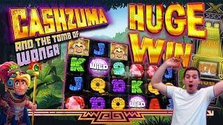 HUGE WINS on Cashzuma Slot - £2 Bet