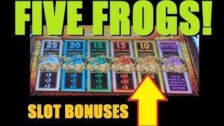 Five frogs slots