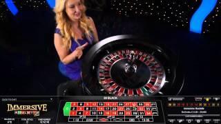 Live Casino Immersive Roulette 21st October 2014