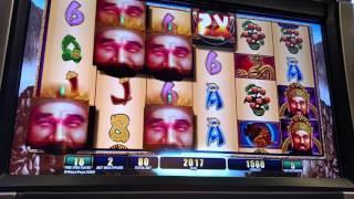 WMS Fortune Ruler Big win Free Spin Bonus