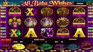 Ali Baba Wishes Slot Machine - Review and Free Online Game