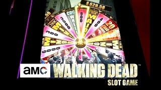 The Walking Dead Slot Machine - Bonuses with Awesome Win - 75 Cent Bet