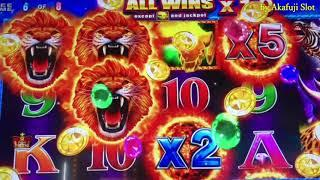 Barona Casino Part 2/3•NEW SLOT - African Blaze Penny Slot Max Bet $3 - First Attempt - BIG WIN