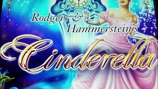 """*NEW GAME* FIRST LOOK!!! *{RODGERS & HAMMERSTEIN'S CINDERELLA}* BY """"AINSWORTH""""Free Spins"""