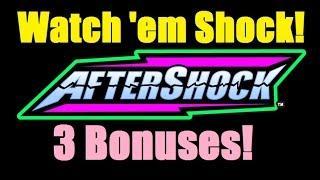 ★ AFTERSHOCK SLOT MACHINE WINS! Best of $.25 Denom Aftershock Bonus Wins from Vegas 2015! (DProxima)