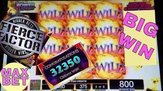 Gold Dragon Red Dragon Slot Machine Max Bet BONUS •BIG WIN• & •HUGE LINE HIT• # Slot Machine BIG WIN